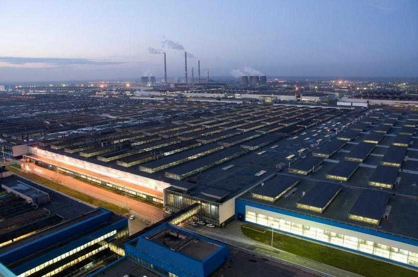 Завод Автоваз группы Renault-Nissan